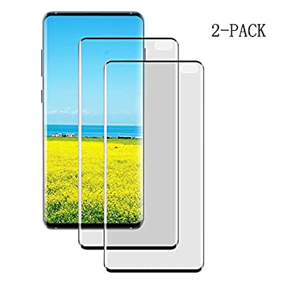 Y.F.SHIELD S10+ Screen Protector S10 Plus Tempered Glass 3D for Samsung Galaxy S10 Plus