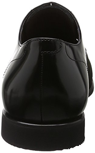 Karl Lagerfeld Yann, Scarpe Stile Oxford Uomo Nero (Schwarz 990)
