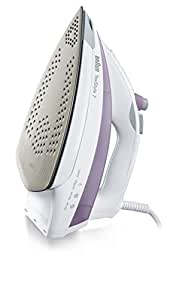 Braun TexStyle 7 Steam Iron with Eloxal Soleplate, TS 715A, Pink