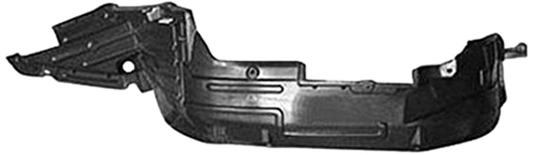 OE Replacement Nissan/Datsun Maxima Front Driver Side Fender Splash Shield (Partslink Number NI1250115) Unknown