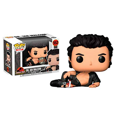 Funko POP! Movies: Jurassic Park-Dr. Ian Malcolm Wounded Exclusive