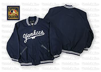 New Jacket Sports Amazon Wool Outdoors Ness amp; York Mitchell Yankees com 52 1952