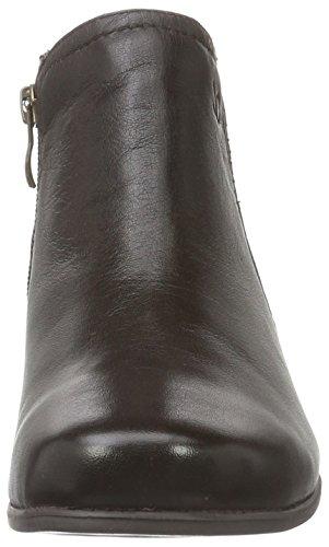 Caprice 25307 - botas de material sintético mujer Braun (DK BRWN/REPTIL 356)
