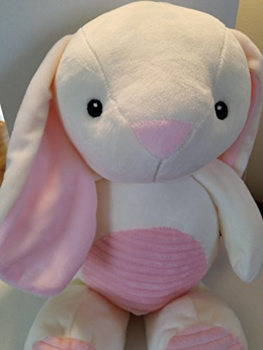 Kellybaby 20 inch PLUSH BUNNY with Rattle