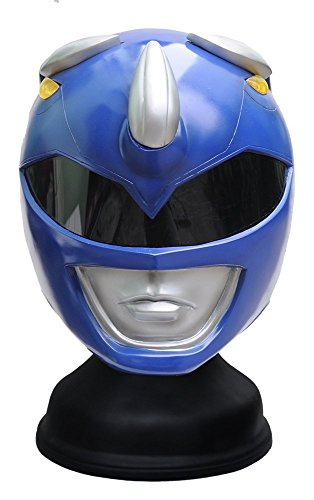 Blue Power Ranger Helmet Cosplay Life Size by Hot Model Toy