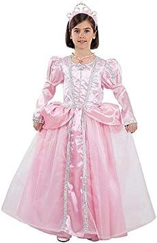 DISBACANAL Disfraz Princesa Rosa niña - -, 12 años: Amazon.es ...
