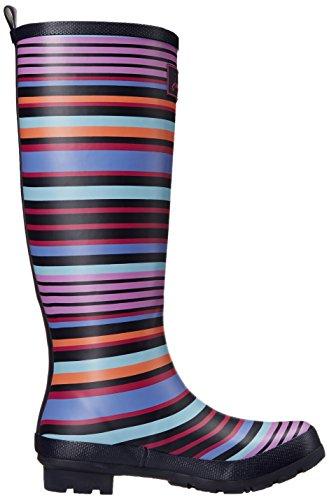 Joules Womens Stampa Stampa Pioggia Boot Multi Stripe