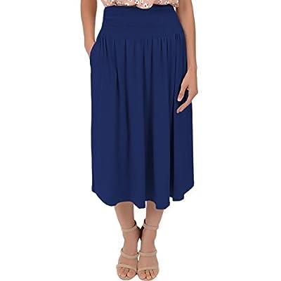 Stretch is Comfort Women's Midi Pocket Skirt