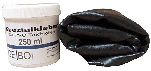 Teichfolien Reparaturset 1,00 mm Folie schwarz inkl. Kleber