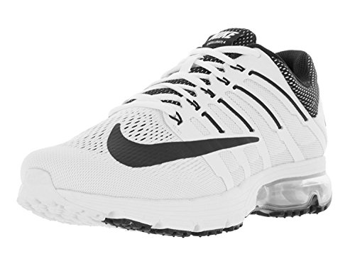 Nike Mens Air Max Excellerate 4 Running Shoe, White/Black-White-Pure Platinum, 46 D(M) EU/11 D(M) UK