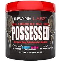 Possessed oxido + Pre-entreno Insane Labz gummy gorm 30 serv
