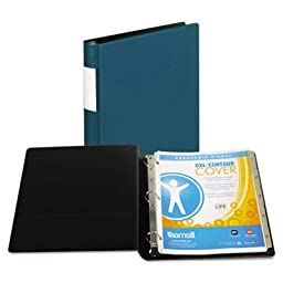 DXL Heavy-Duty Locking D-Ring Binder With Label Holder, 1\