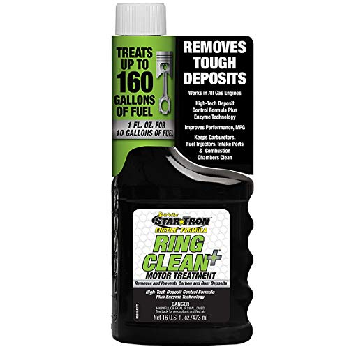 Star Tron Ring Clean+ Plus Deposit Control Fuel Additive with Enzyme Technology – 16 oz