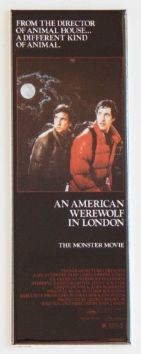 An American Werewolf in London Movie Poster Fridge Magnet (1.5 x 4.5 -