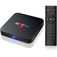 TICTID M9C Pro 1GB Ram 8GB Rom Android 6.0 TV Box 4K Smart TV Box S905X Quad Core CPU HDMI 2.0 Video Decoder 4k.2k Output 2.4G WIFI
