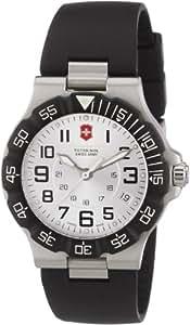 Victorinox Active 241345 - Reloj analógico de cuarzo para hombre, correa de plástico color negro