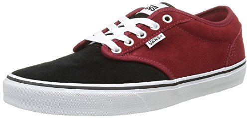 Baskets varsity Homme Red Basses Rouge black Vans Atwood HwqP5XAA