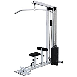 Deltech Fitness Stack Loaded Lat Machine