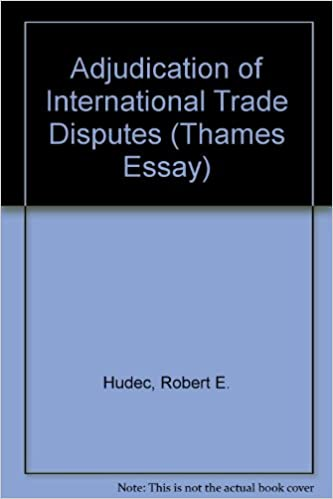 Adjudication Of International Trade Disputes Thames Essays Robert  Adjudication Of International Trade Disputes Thames Essays Robert E  Hudec  Amazoncom Books Pay Someone To Do My Papewr also English Language Essay Topics  Proposal Essay Ideas