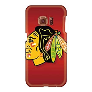 Hardcase88 Samsung Galaxy S6 Scratch Protection Phone Covers Unique Design High-definition Chicago Blackhawks Skin [dzJ2588UHeE]