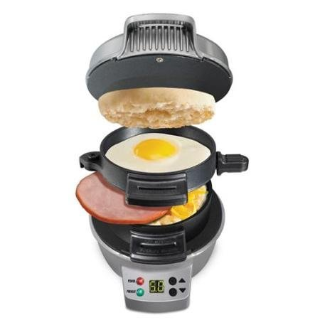 hamilton-beach-breakfast-sandwich-maker-with-count-down-timer