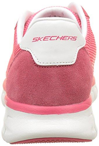 Laufschuhe Synergy Closed Damen Skechers Pink case wqCSSO