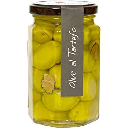 Casina Rossa Green Olives with Truffles, 9.8 oz