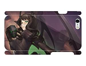 iPhone 6 cover case Anime - Dead Master Black Rock Shooter57 by heat sublimation