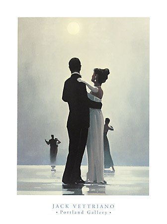 ((24x32) Jack Vettriano Dance Me to the End of Love Art Print Poster)