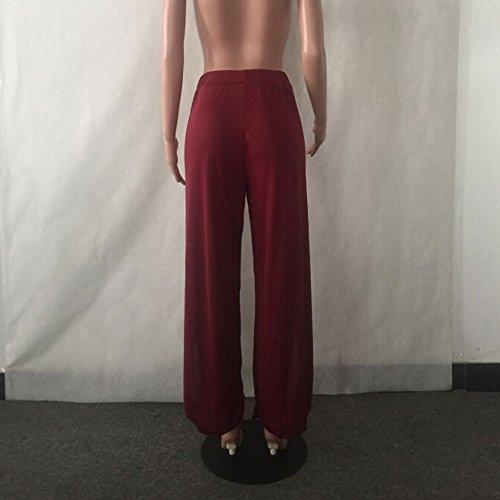 Imprime Taille Pantalon Harem Taille Large Palazzo Mode Haute Femme Jambes Chic Evas Amincissant Stretch Fluide Taille Elastique A Pants T Kangrunmy C Yoga Grand La 4x4vCq