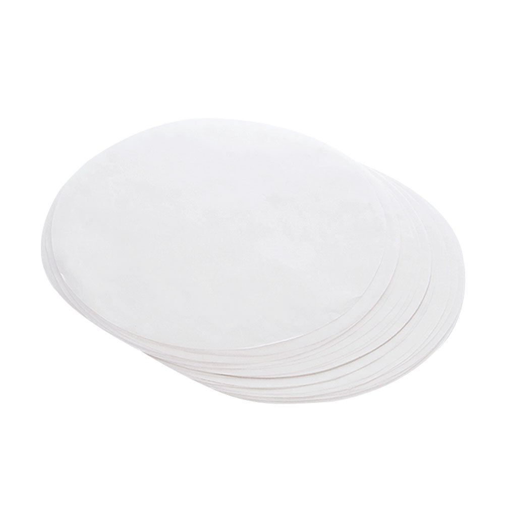 CONIE Large 12'' Parchment Paper Liners for Round Cake Pans, Pizza Pan, Grill Pan, 50 pack
