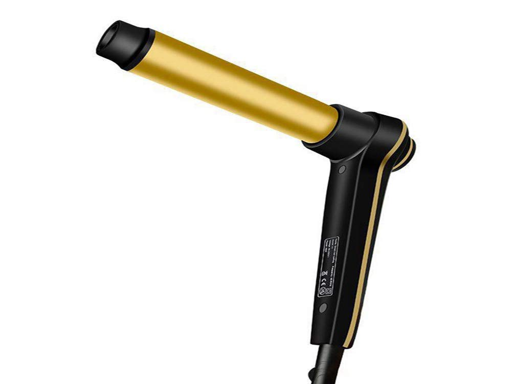 FOHKJMML Hair Rollers Hair Curler Multi-Function T-Shaped Gold Curler Does not Hurt (Color : -, Size : -)