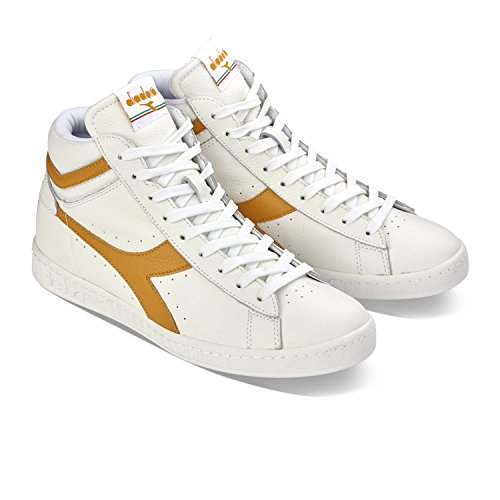 Diadora Game Adulto Top Bianco Beige Unisex Low Low Waxed L Scarpe 7ARwpxq7Or