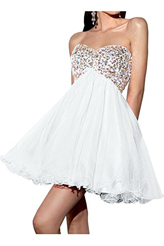 Toskana novia de un hombro para mujer Mode Noche de gasa Vestidos Largo novia Ball Prom Fiesta Ropa Weiß