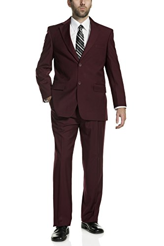Button Mens Suit Modern Classic