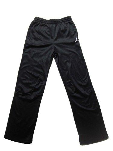 Nike Air Jordan Boys Therma Fit Black Track Pants (XL)