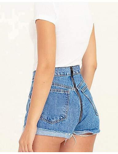 Unita Jeans Da Pantaloni Chic Yfltz Tinta Blue Donna f4Y7Yq