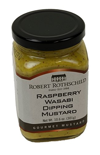 Robert Rothschild Farm 10.6 oz Raspberry Wasabi Mustard RD52922 by Robert Rothschild Farm