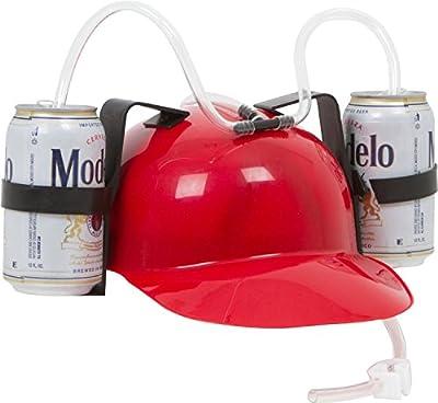 Drinker Beer and Soda Guzzler Helmet