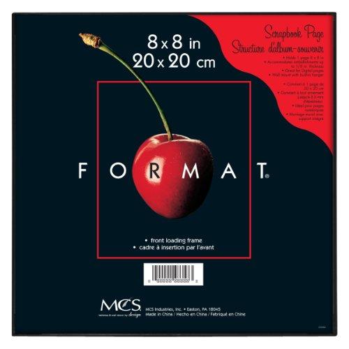 MCS 8x8 Inch Format Frame, Black