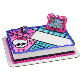 Decopac Monster High Best Beasties DecoSet Cake Topper Decoration (Monster High Cake Topper)