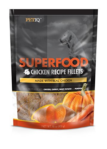 Petiq Superfood Chicken Fillet Recipe For Dogs With Carrot  Sweet Potato  Pumpkin  16 Oz One Size By Petiq