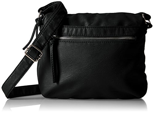 Bueno of California Bueno Textured Faux Leather Washed Crossbody