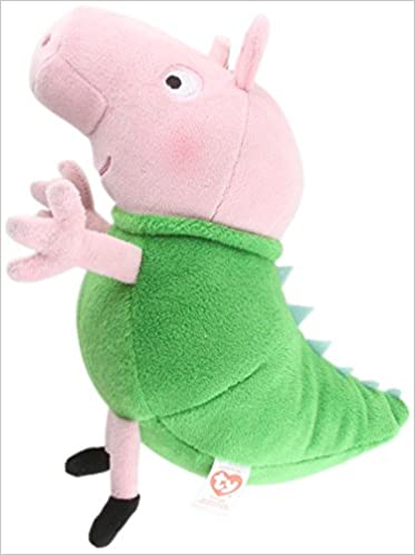 TY Beanie Baby - DINOSAUR GEORGE (UK Exclusive - Peppa Pig) (7 inch) by TY  Inc  Amazon.com.mx  Libros 3e6039564366