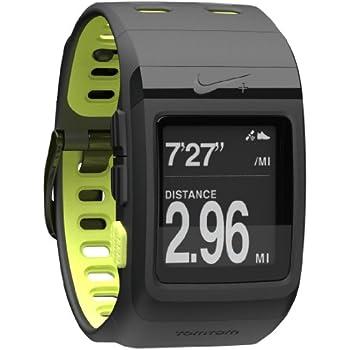 15d6136e3f Amazon.com: Nike+ SportWatch GPS Powered by TomTom (Black/Volt): GPS ...