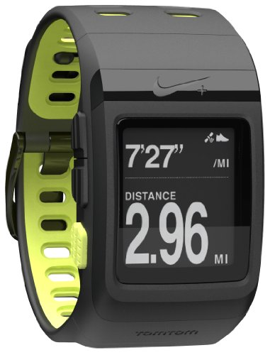 (Nike+ SportWatch GPS Powered by TomTom (Black/Volt))