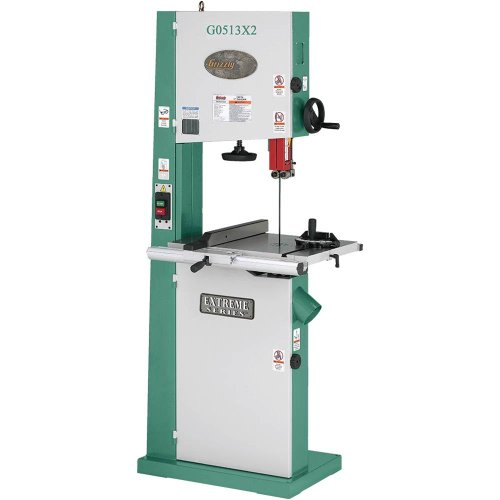 Grizzly G0513X2 Bandsaw with Cast Iron Trunnion, 2 HP, 17-Inch by Grizzly