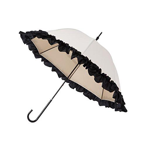 PROIDEA(プロイデア) 白川みきのおリボンUVカット涼感日傘 (オフホワイト) B07DRKZNSH オフホワイト オフホワイト