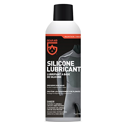 (Gear Aid Silicone Lubricant Spray for Neoprene and Rubber Gear, 7 oz)
