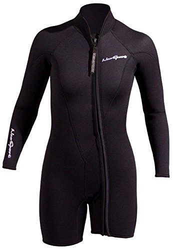 NeoSport Wetsuits Women s Premium Neoprene 3mm Step-In Jacket 0a351b3ac